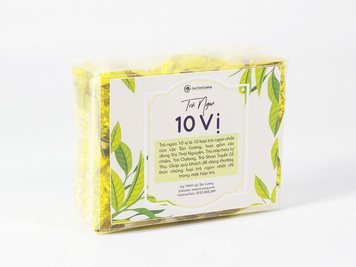 Combo 10 loại trà ngon nhất Việt Nam