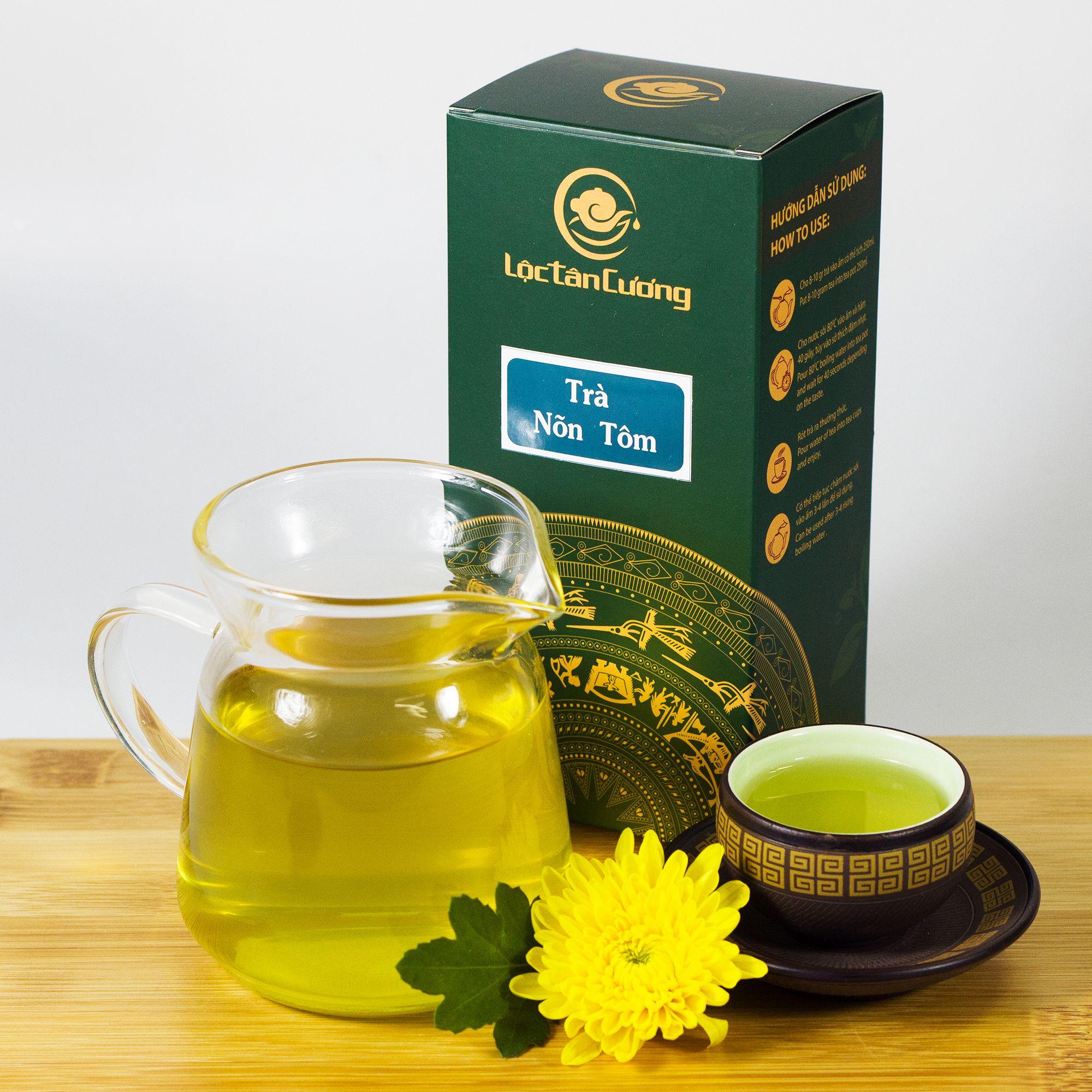 Sản phẩm trà nõn tôm thái nguyên