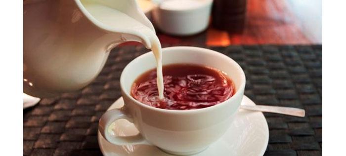 trà thái nguyên với sữa